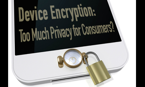 Discussing the Merits of Device Encryption