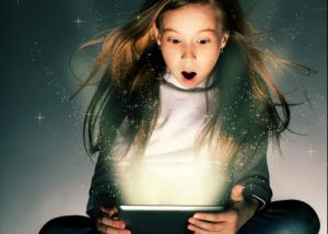 Magic Ipad Girl