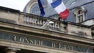 ©Vincent Isore/IP3 press; Paris, France le 14 Fevrier 2014 - Illustration de la facade du Conseil d Etat  (MaxPPP TagID: maxnewsworldthree433078.jpg) [Photo via MaxPPP]