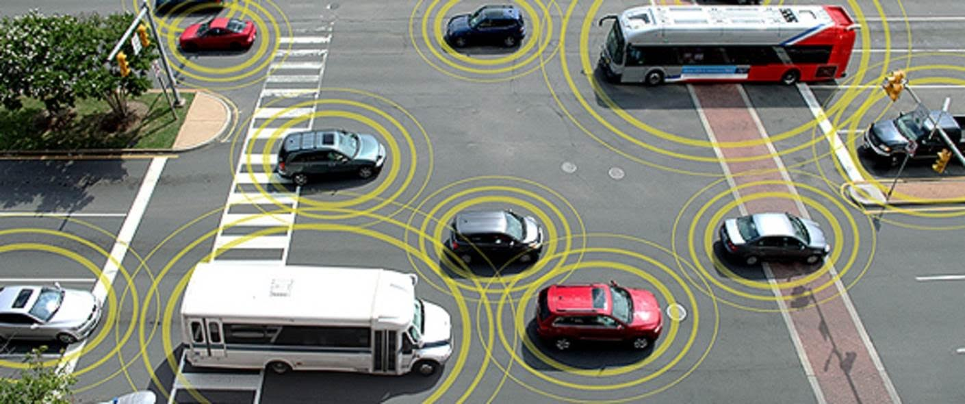 Connected Cars Background Image
