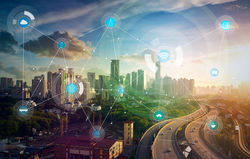 Smart city wireless communication
