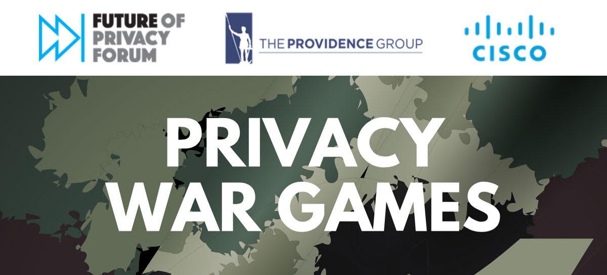 Privacy War Games | November 12 in San Jose
