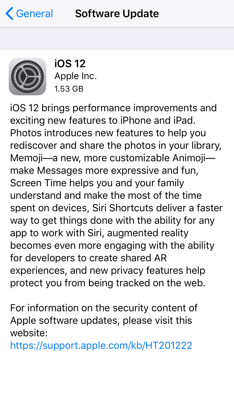 Privacy Features of iOS 12 and MacOS Mojave