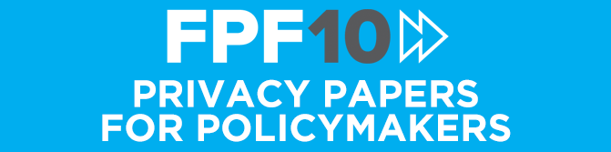 FPF's John Verdi on Privacy Papers for Policymakers