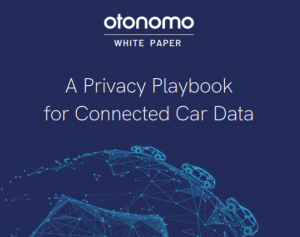 Otonomo Privacyplaybook