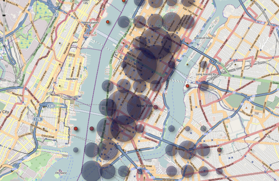 New York Heatmap