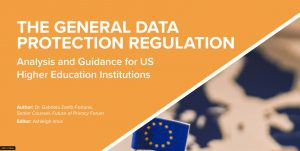 Gdpr Higher Ed