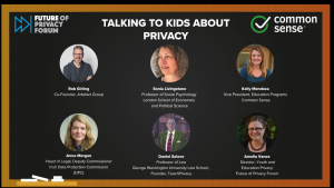 talking to kid about privacy image